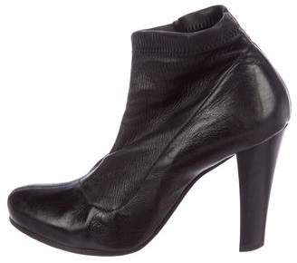 CNC Costume National Stretch Leather Booties