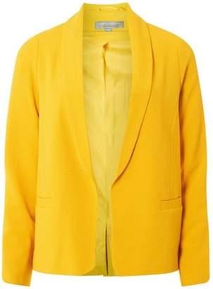 Dorothy Perkins Womens Petite Ochre Crepe Jacket