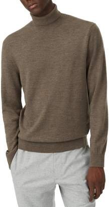 Club Monaco Trim Fit Merino Wool Turtleneck Sweater