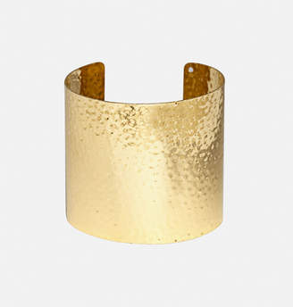 Avenue Hammered Gold Cuff