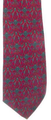 Valentino Ornate Print Silk Tie