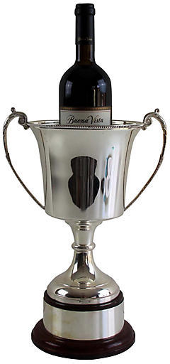 One Kings Lane Vintage English Silver-Plated Presentation Cup