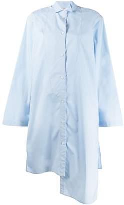 Loewe long asymmetrical shirt