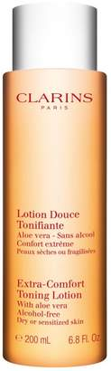 Clarins Extra Comfort Toning Lotion Alcohol Free For Dry Or Sensitized Skin