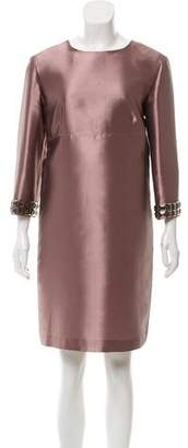 Burberry Embellished Shift Dress w/ Tags.
