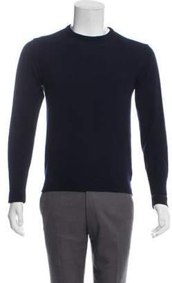 Officine Generale Merino Wool Crew Neck Sweater