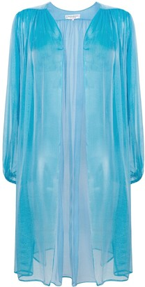 Saint Laurent Pre-Owned sheer open blouse