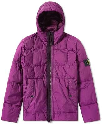 Stone Island Crinkle Reps Nylon Down Filled Parka