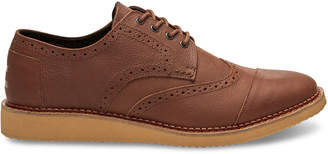 Toms Brown Leather Men's Brogue