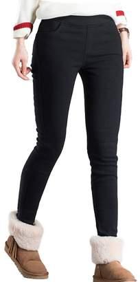 mtzyoa Women Skinny Pants Stretch High Waist Jeggings Pull On Butt Lift Pencil Pants