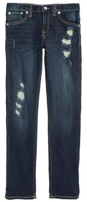 Levi's 505C(TM) Ripped Skinny Jeans
