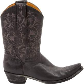 Old Gringo Black Leather Boots