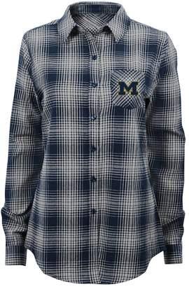 Kohl's Juniors' Michigan Wolverines Dream Plaid Shirt