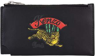 Kenzo Jumping Tiger Zipped Card Holder