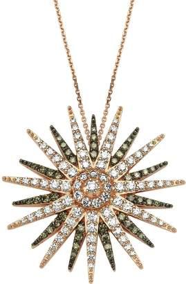 Bee Goddess Star Light Diamond Necklace