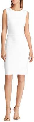 Ralph Lauren Lace-Inset Dress