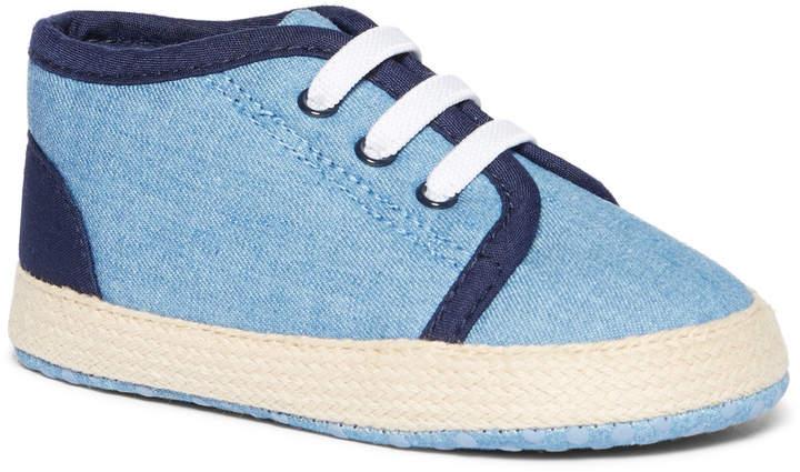 Tu Clothing Blue Chambray Trainer