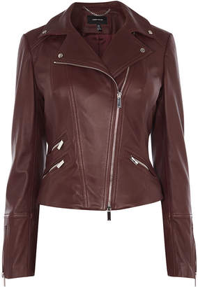 Karen Millen Signature Leather Jacket
