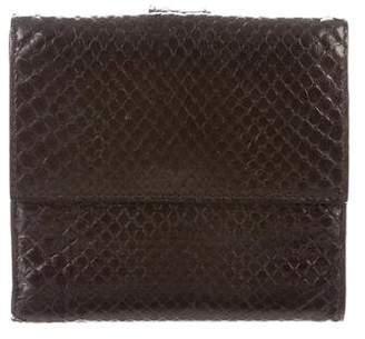 Bottega Veneta Embossed Leather Wallet