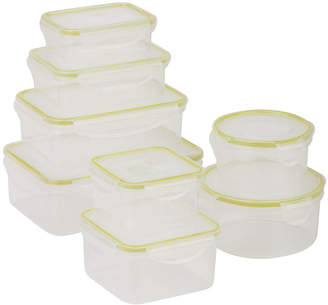 Honey-Can-Do Snap-Tab 8-pc. Food Storage Set