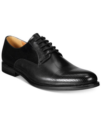 Bar III Men's Jamie Perforated Plain-Toe Oxfords, Only at Macy's $109.99 thestylecure.com