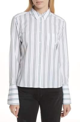 Equipment Huntley Stripe Cotton Shirt