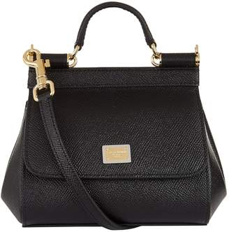 Dolce & Gabbana Micro Sicily Top Handle Bag