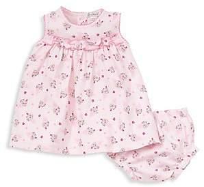 Kissy Kissy Baby Girl's Ice Cream Dress& Diaper Cover Set