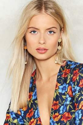 Nasty Gal Another Round Drop Earrings