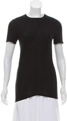 Calvin Klein Collection Short Sleeve Crew Neck Top