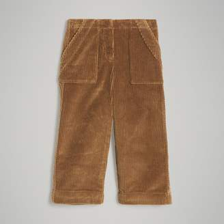 Burberry Childrens Corduroy Wide-leg Trousers