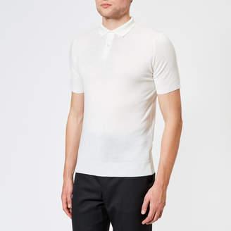 John Smedley Men's Payton 30 Gauge Merino Short Sleeve Polo Shirt