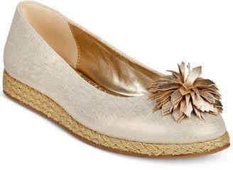 Bandolino Blondelle Slip-On Espadrille Flats $59 thestylecure.com