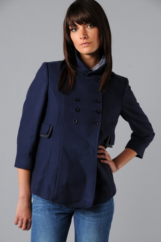 See by Chloe Double Breasted Baby Coat