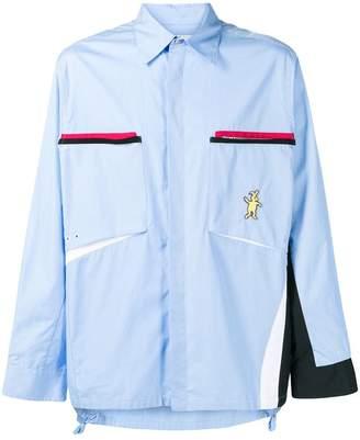 Marni Dance Bunny zip pocket shirt