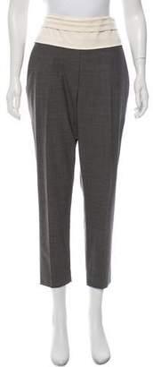 Brunello Cucinelli Wool Straight-Leg Pants