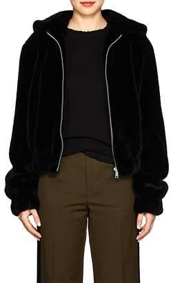 Helmut Lang Women's Faux-Fur Bomber Jacket