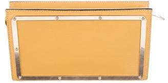 Chloé Leather Brendy Clutch