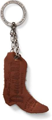 Ralph Lauren Suede Boot Key Fob