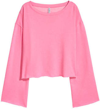 H&M Short Sweatshirt - Pink