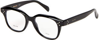 Celine CL41457 Black Square Optical Frames