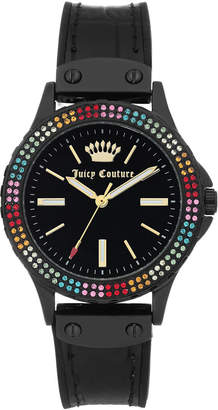 Juicy Couture Woman Juicy Couture, 1009MTBK Silicon Strap Watch