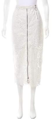 Maki Oh Metallic Lace Skirt