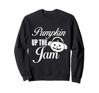 White Pumpkin Up the Jam Cool Statement Graphic Tee