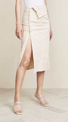 Jacquemus Flap Skirt