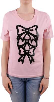 Moschino Cotton Printed T-shirt