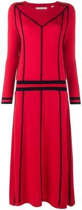 Parker Chinti & contrast sweater midi dress