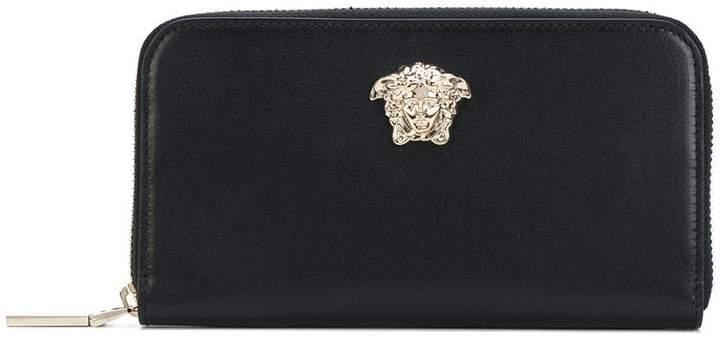 Versace Medusa Palazzo zip wallet