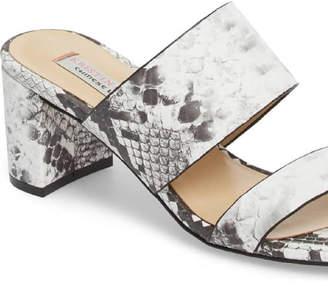 Kristin Cavallari for Chinese Laundry Python Print Heel