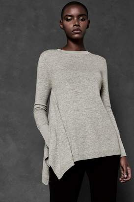 Next Womens Ted Baker Ted Says Relax Grey Cashmere Knit
